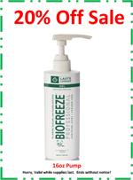 Biofreeze® Professional Pain Relieving Gel - 16 oz. Gel Pump - Green