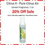 Citrus II Air Fragrance-7oz, Lemon Scent